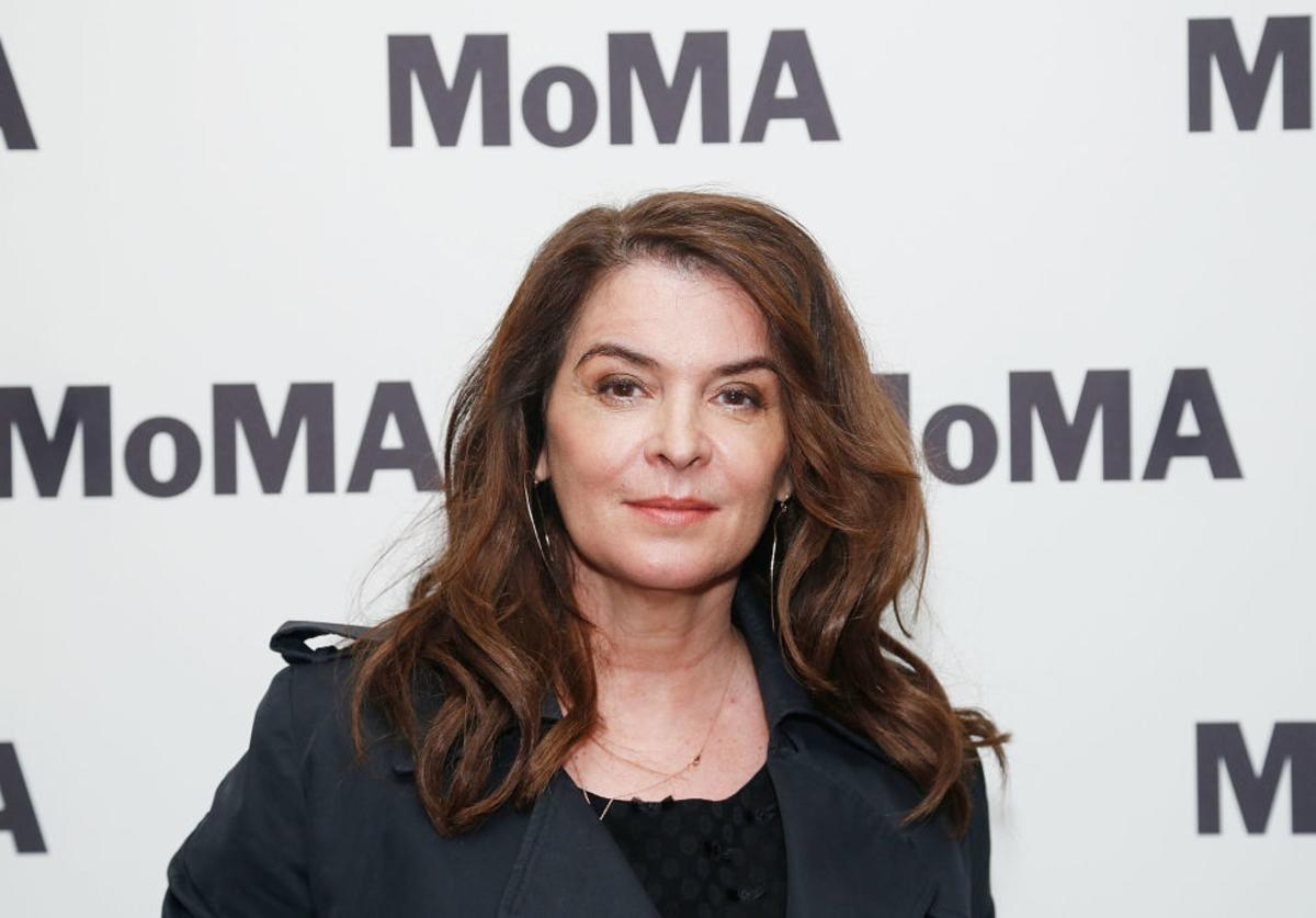 """Annabella Sciorra attends the opening night of the MoMA film series """"Abel Ferrara Unrated"""" at MoMA (May 2019)"""