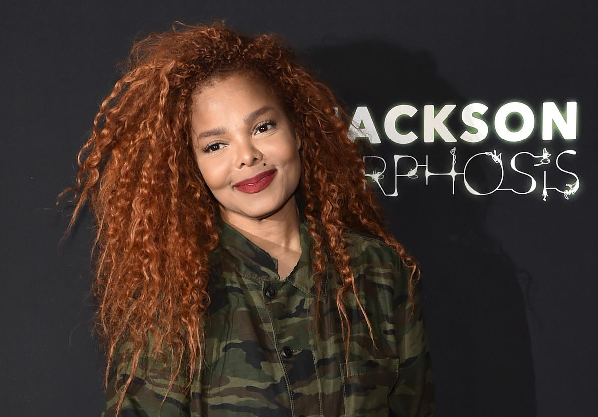 """Janet Jackson attends her residency debut """"Metamorphosis"""" after party (May 2019)"""