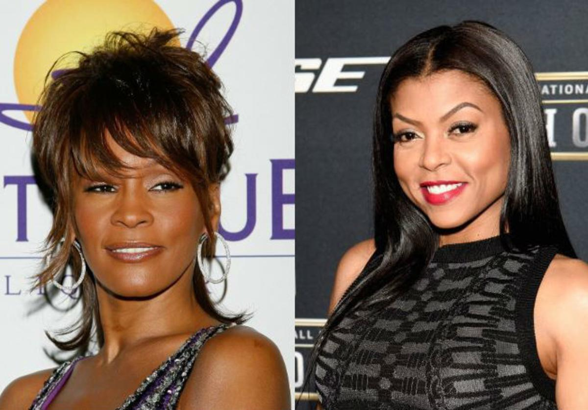 Whitney Houston, Taraji P. Henson