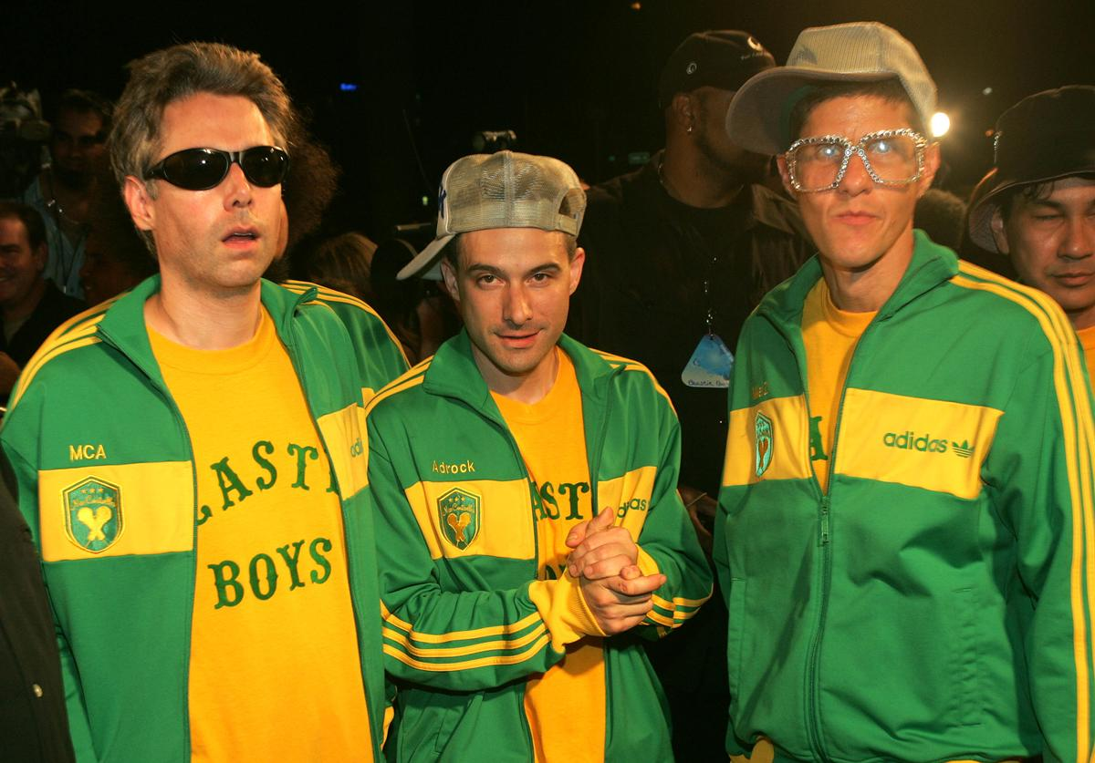 The Beastie Boys arrive at the 2004 MTV Video Music Awards Latin America (Oct. 2004)
