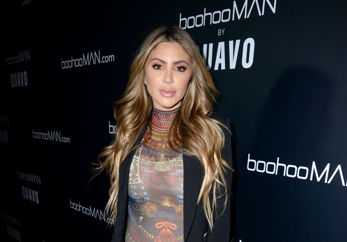 Larsa Pippen attends the boohooMAN x Quavo Launch Party at The Sunset Room on April 10, 2019 in Los Angeles, California