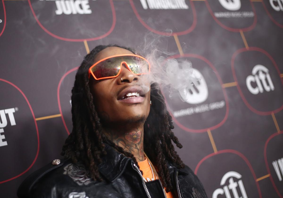 Wiz Khalifa attends the Warner Music Group Pre-Grammy Party at Hollywood Athletic Club on January 23, 2020 in Hollywood, California