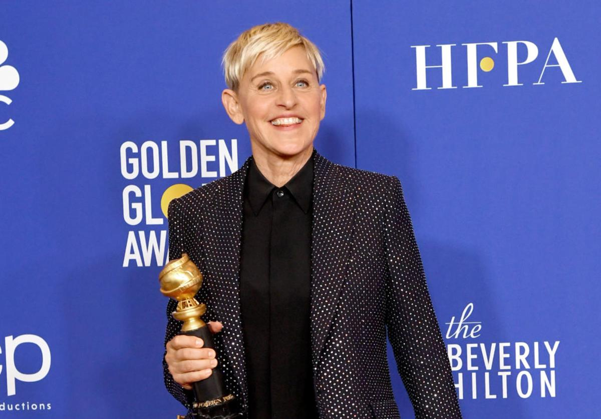 Ellen DeGeneres at 77th Annual Golden Globe Awards (Jan. 2020)
