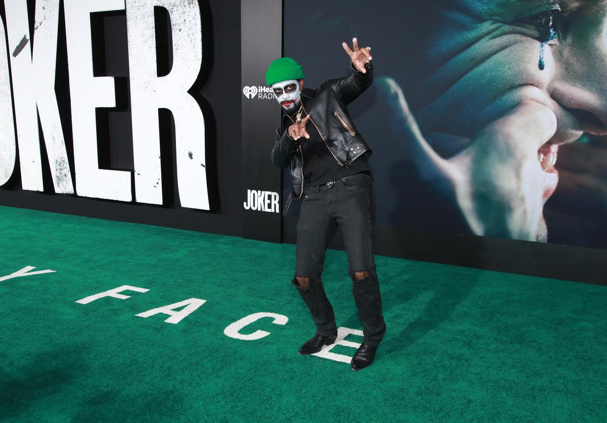 "Lakeith Stanfield attends the premiere of Warner Bros Pictures ""Joker"" (Sept. 2019)"