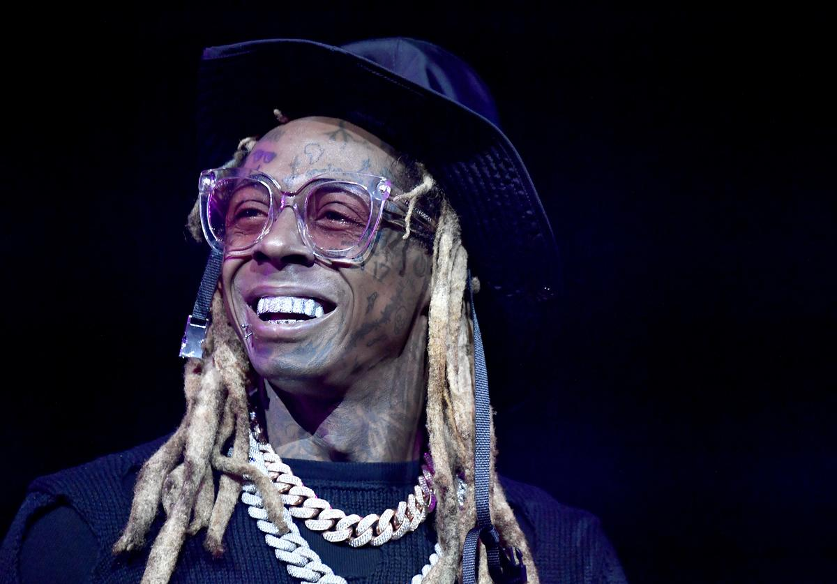 Lil Wayne performs onstage during the EA Sports Bowl at Bud Light Super Bowl Music Fest on January 30, 2020 in Miami, Florida