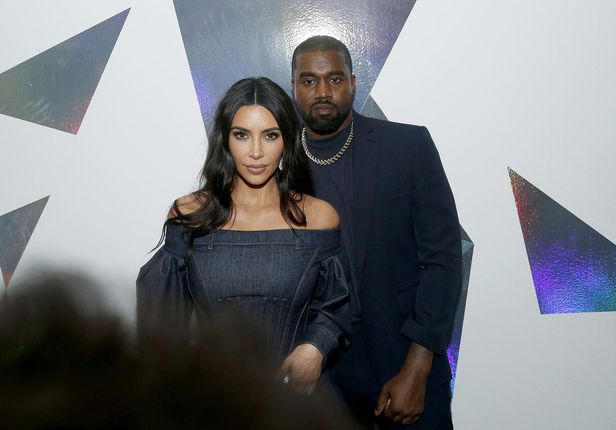 Kim Kardashian West and Kanye West attend the WSJ. Magazine 2019 Innovator Awards sponsored by Harry Winston and Rémy Martin at MOMA on November 06, 2019 in New York City.