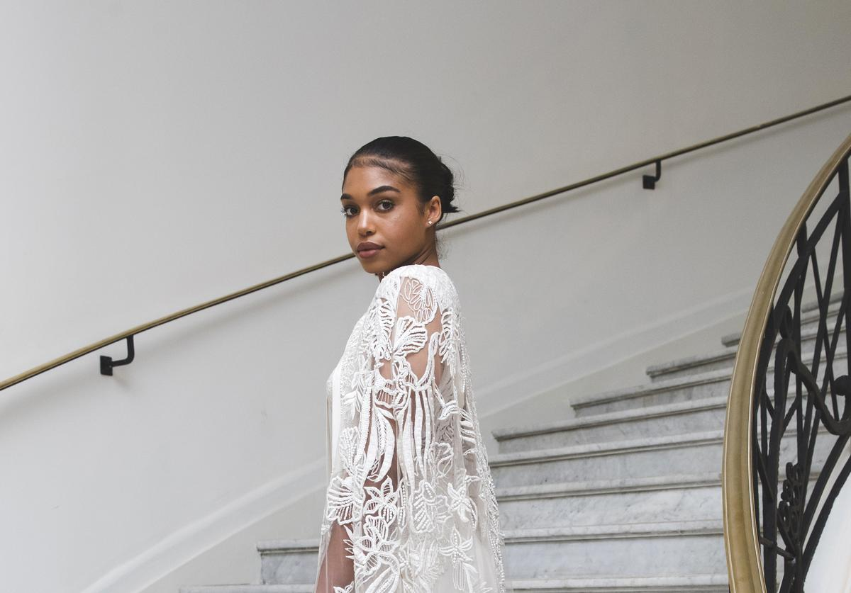 Lori Harvey departs the Martinez Hotel with L'Oreal Paris on May 10, 2018 in Cannes, France