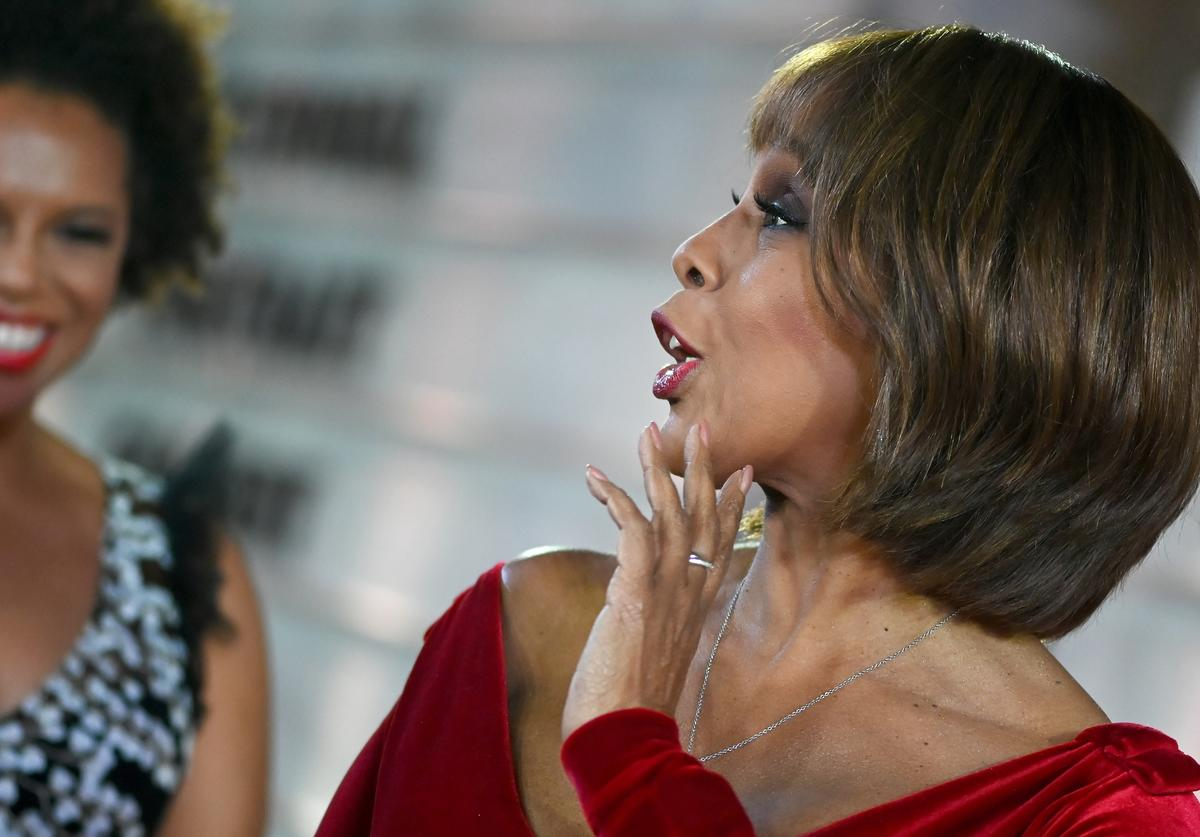 Gayle King and her daughter, Kirby, attend the 2019 American Portrait Gala (Nov. 2019)