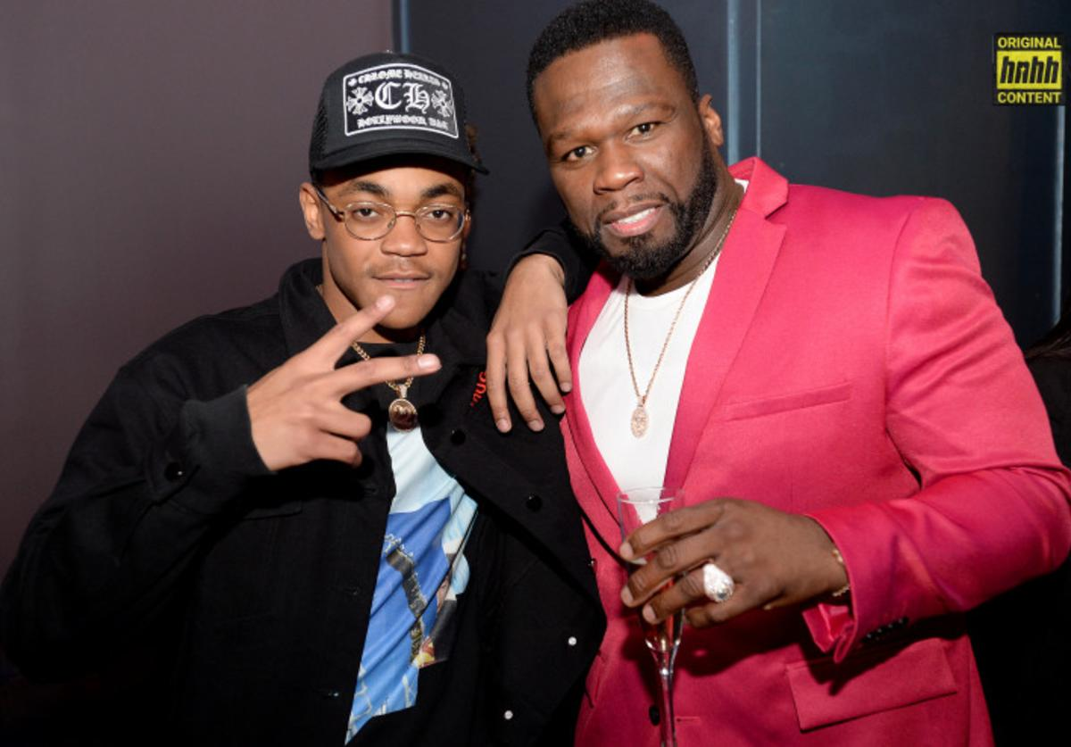 """Michael Rainey Jr and 50 Cent of """"Power"""" TV show"""