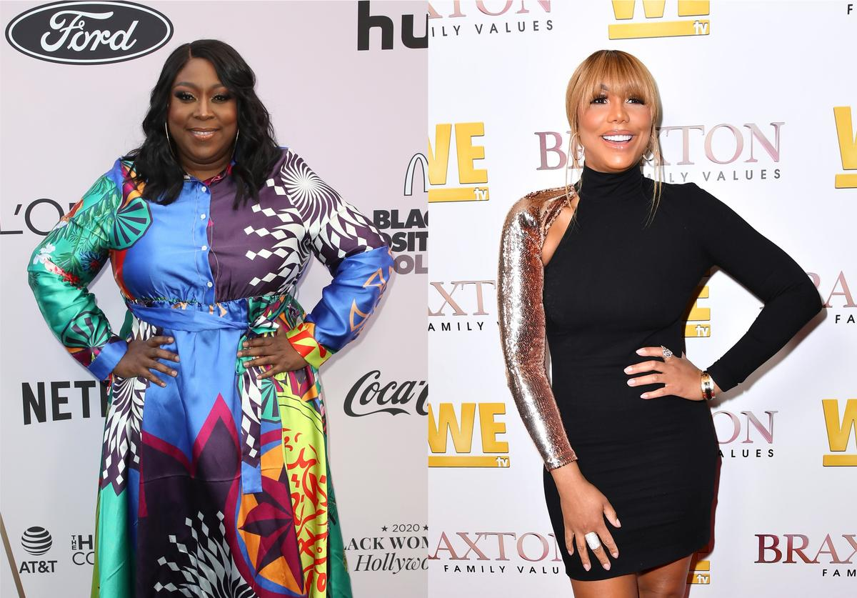 "Loni Love Tamar Braxton fired ""The Real"""