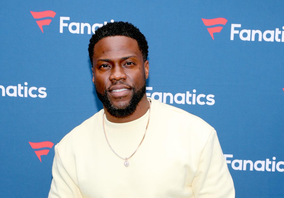 Kevin Hart car accident crash scene fixed repaired
