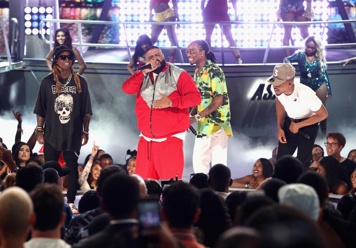 2020 NBA All-Star Game halftime show Lil Wayne DJ Khaled Quavo Chance The Rapper