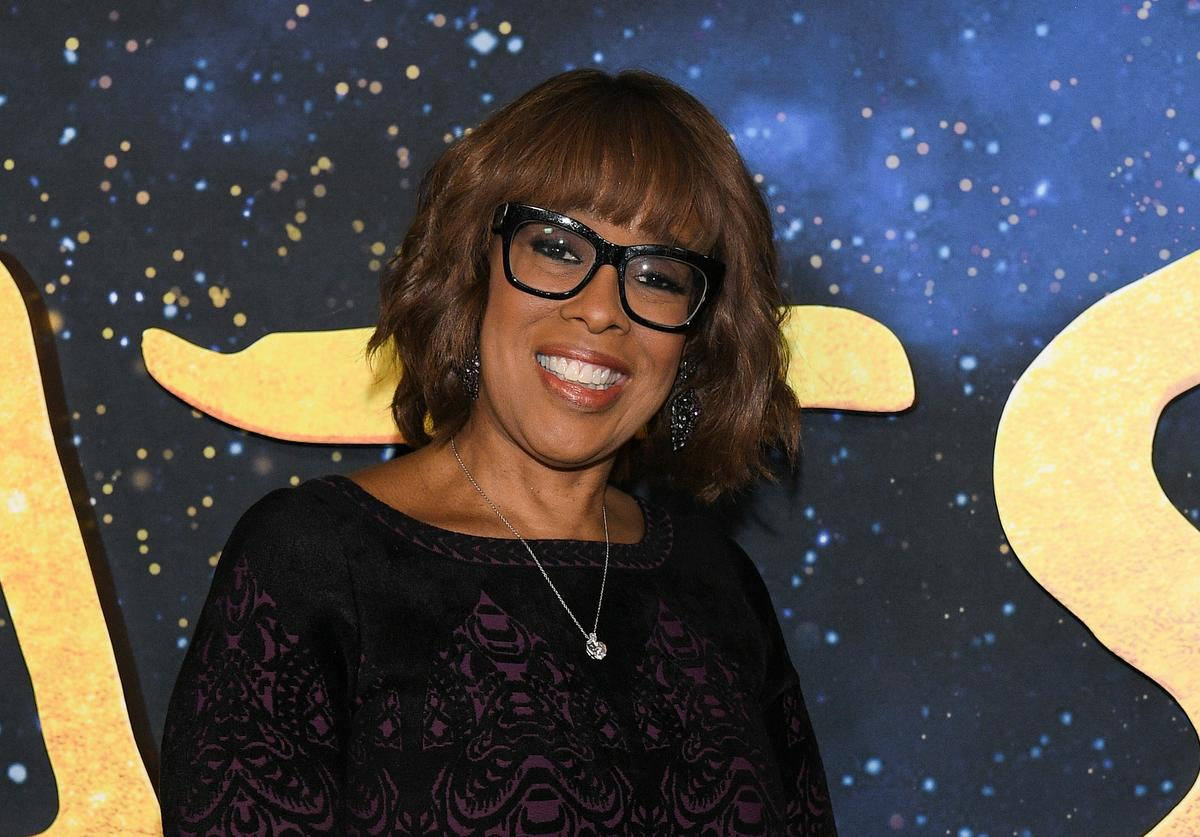 "Gayle King attends the world premiere of ""Cats"" at Alice Tully Hall, Lincoln Center on December 16, 2019 in New York City."