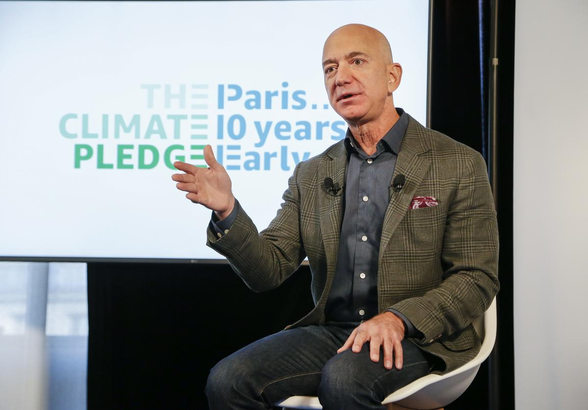 Jeff Bezos most expensive home house purchase amazon founder $165 million Los Angeles L.A. California real estate mansion billionaire rich