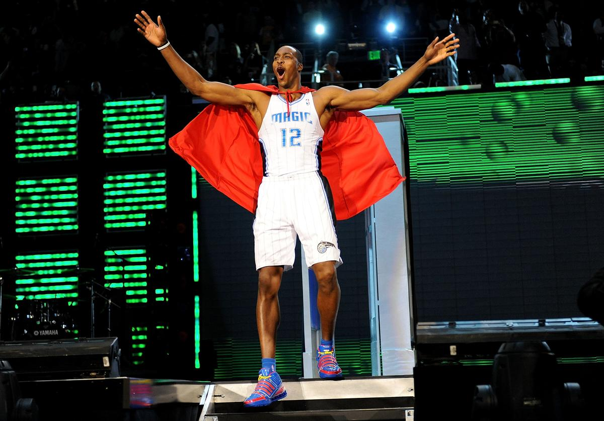 Dwight Howard, Kobe Bryant, Dunk Contest