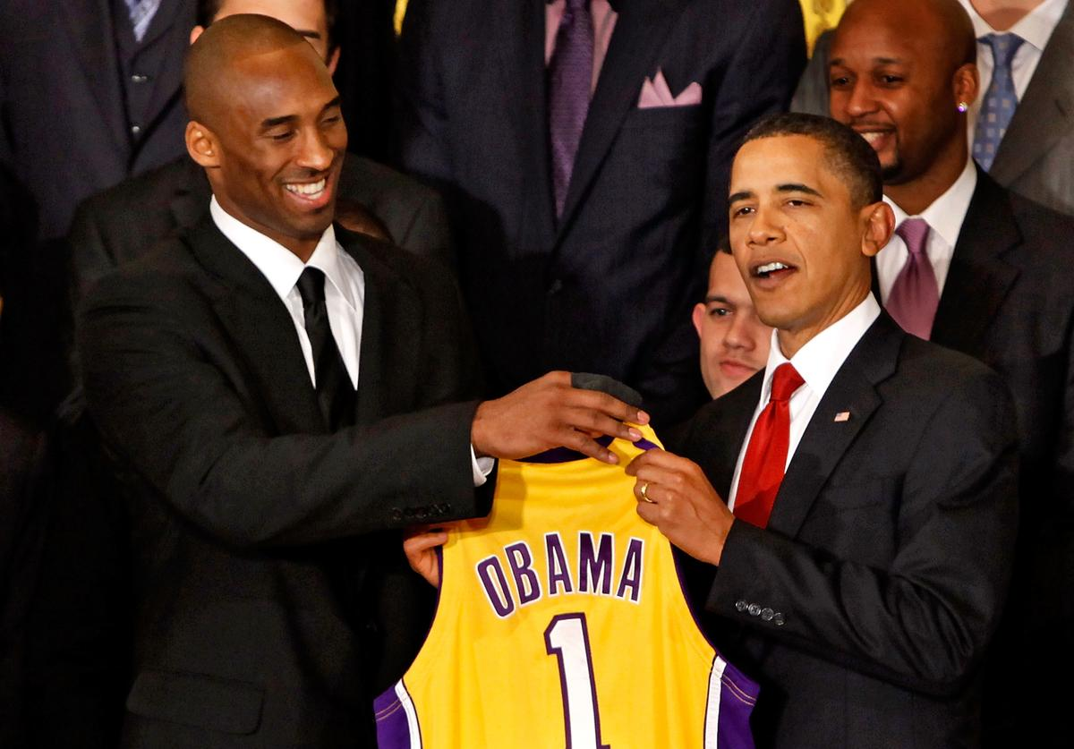 Kobe Bryant, Barack Obama, All-Star Weekend