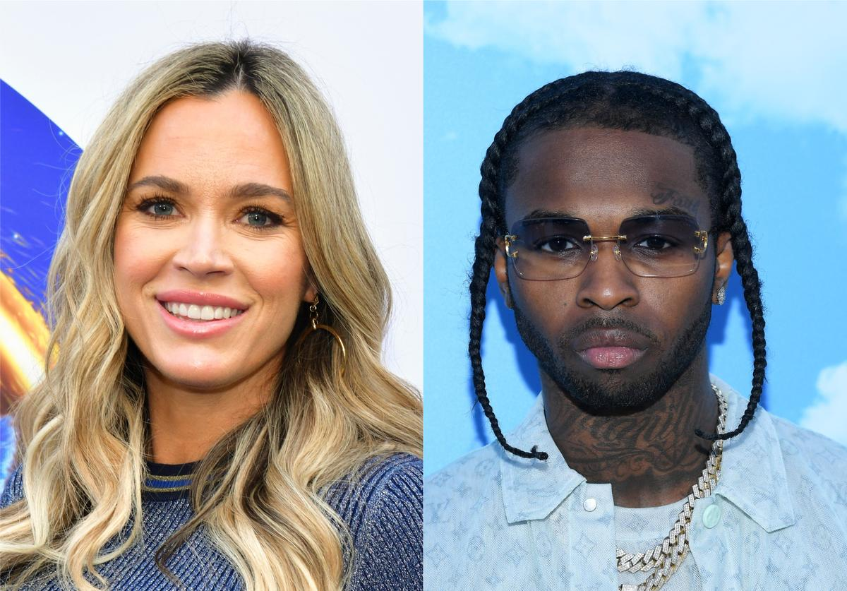 Pop Smoke Teddi Mellencamp Real Housewives of Beverly Hills mourn respects death killed murder shooting RIP home house renting