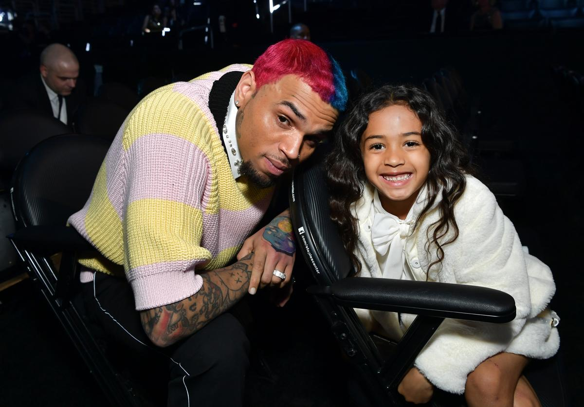 Chris Brown Nia Guzman Royalty Brown baby mama baby mother star daughter