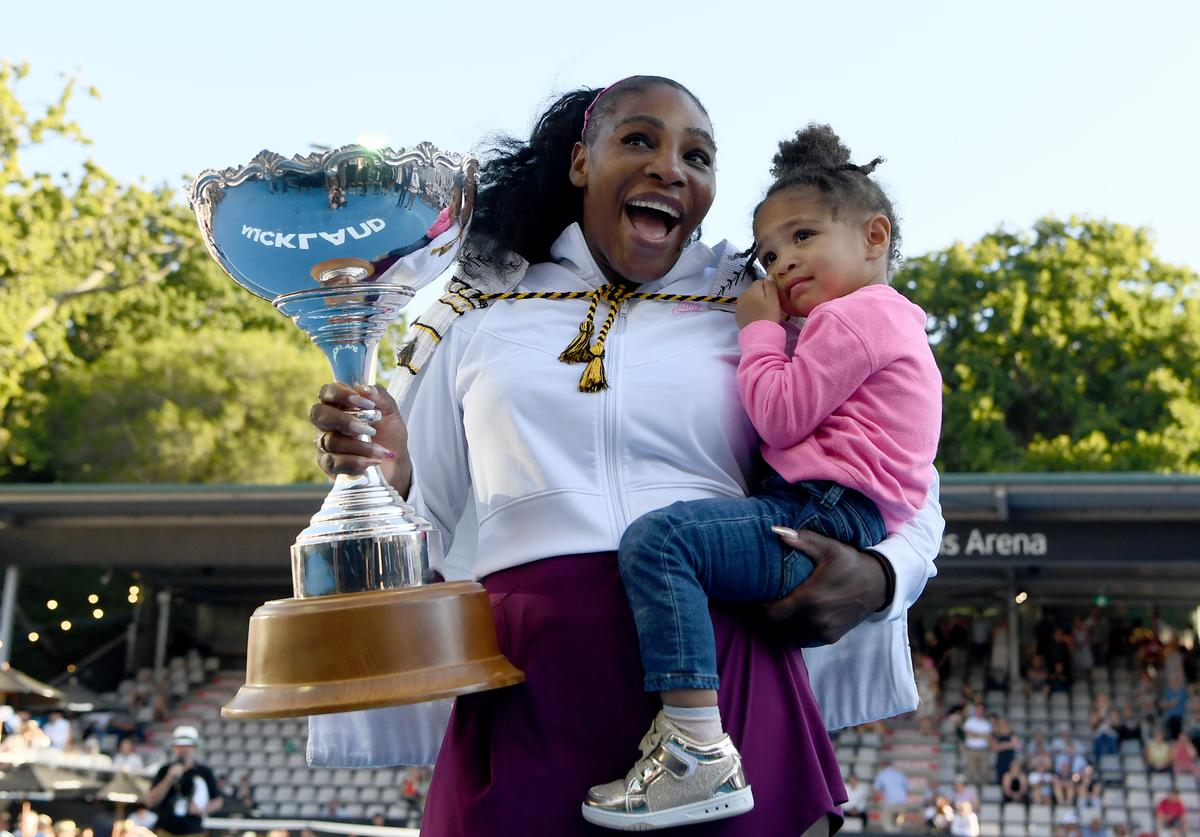 Serena Williams Alexis Olympia Ohanian, Jr. Alexis Ohanian daughter motherhood struggles parent mother parenthood father tennis professional athlete Instagram