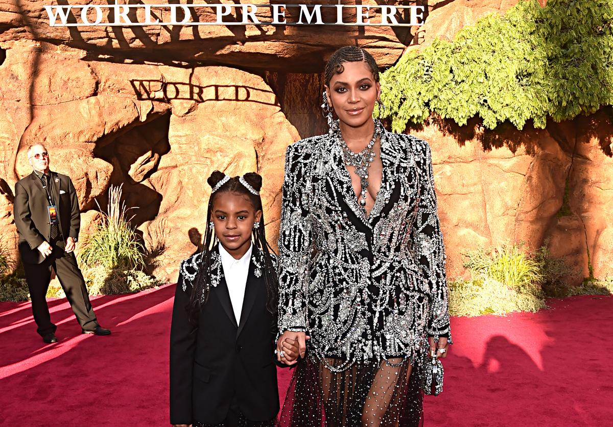 Beyonce Blue Ivy NAACP image awards