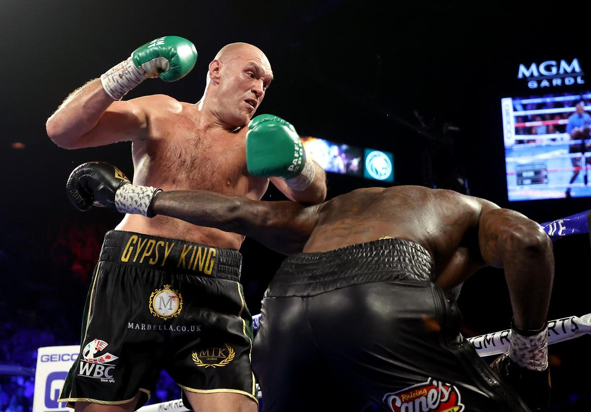 Tyson Fury, Deontay Wilder, Boxing, Fight