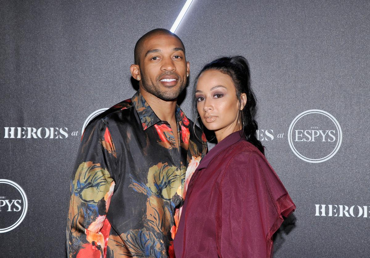 Draya Michele Orlando Scandrick ex fiancé beef fire shots social media Twitter Instagram The Shade Room breakup split