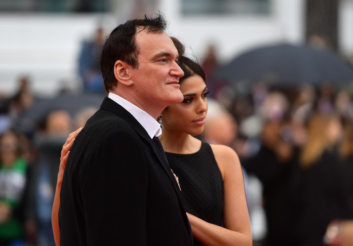 Quentin Tarantino, Child, Birth, Wife