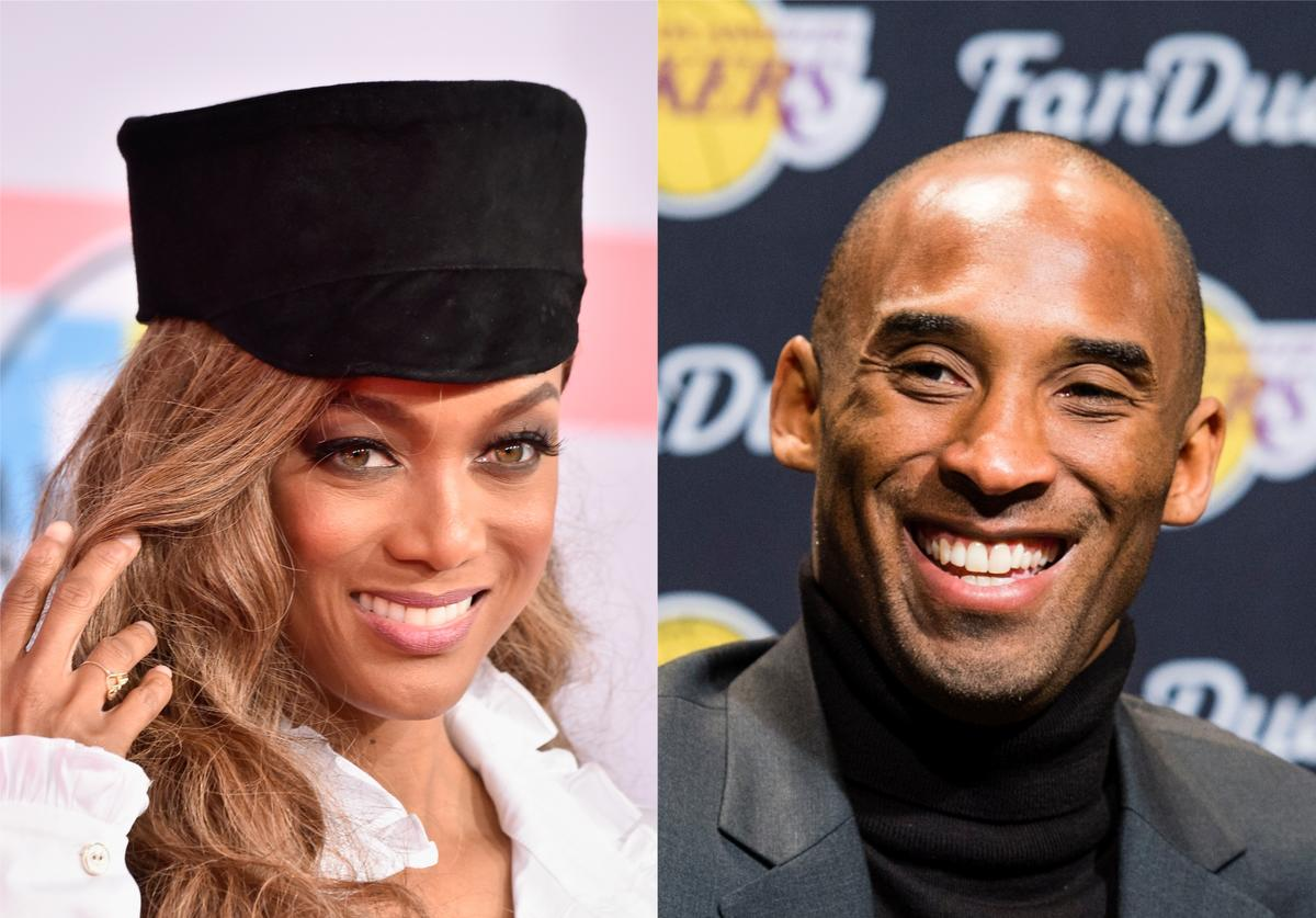 Tyra Banks, Kobe Bryant K.O.B.E. Song The Breakfast Club