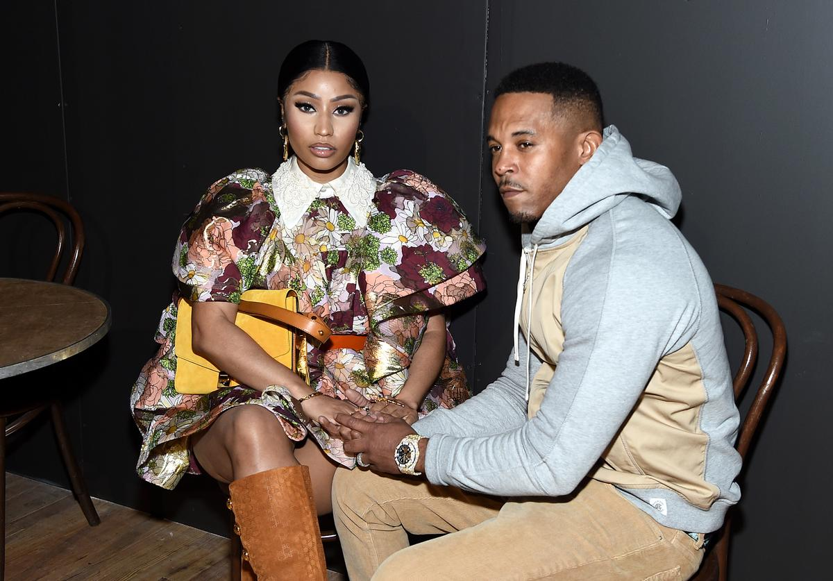 nicki minaj Kenneth petty hate criticism husband couple defence unbothered married Carnival Trinidad Iwer George soca star