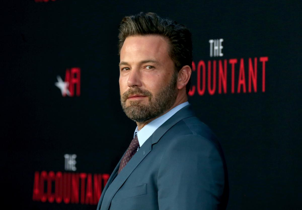 """Actor Ben Affleck attends the premiere of Warner Bros Pictures' """"The Accountant"""" at TCL Chinese Theatre on October 10, 2016 in Hollywood, California."""