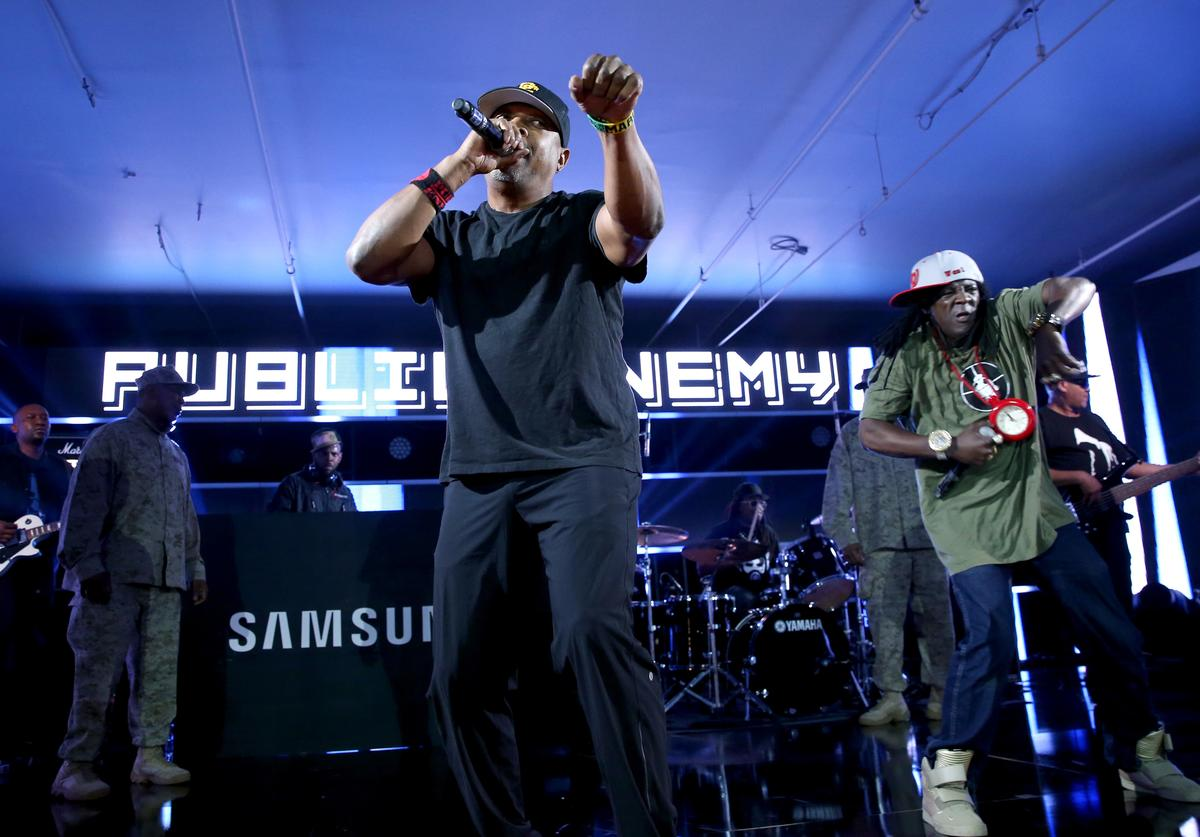 Flavor Flav kicked out of Public Enemy