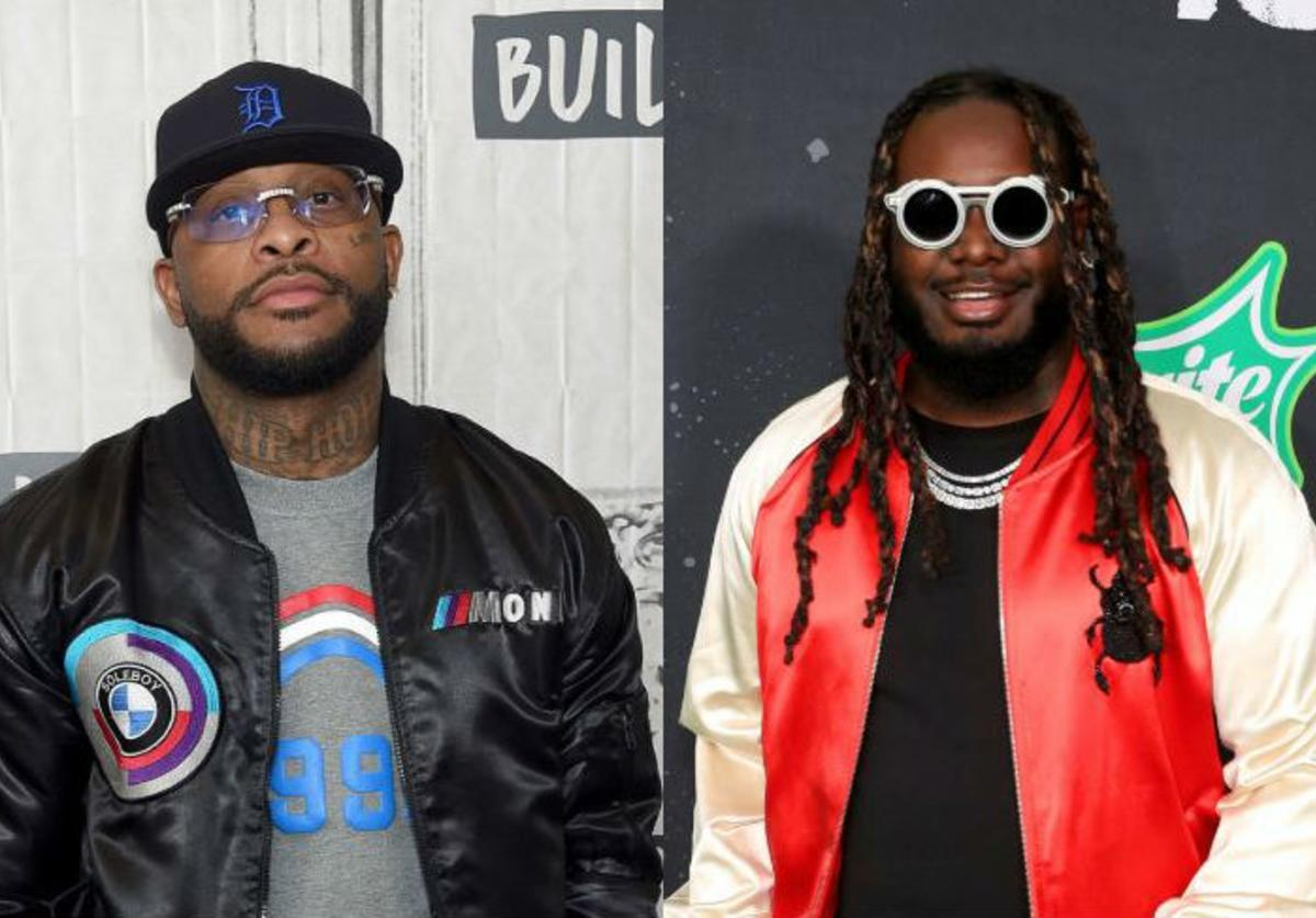 "Royce 5'9"", T-Pain"