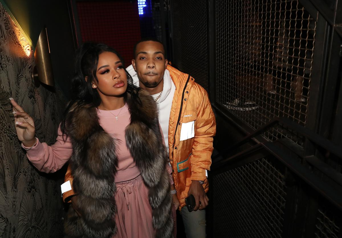 G Herbo Taina Williams ass booty grabbing handful PTSD tour stream album
