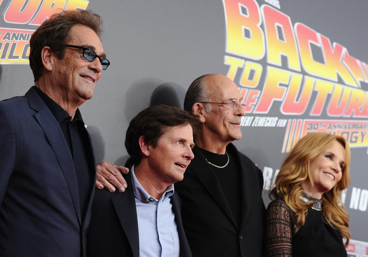 Back to the Future Reunion Marty McFly Air Mag
