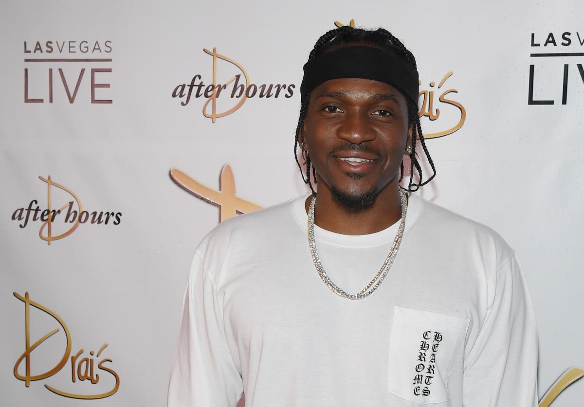 Rapper Pusha T arrives at the debut of his residency at Drai's Beach Club - Nightclub at The Cromwell Las Vegas on June 16, 2018 in Las Vegas, Nevada