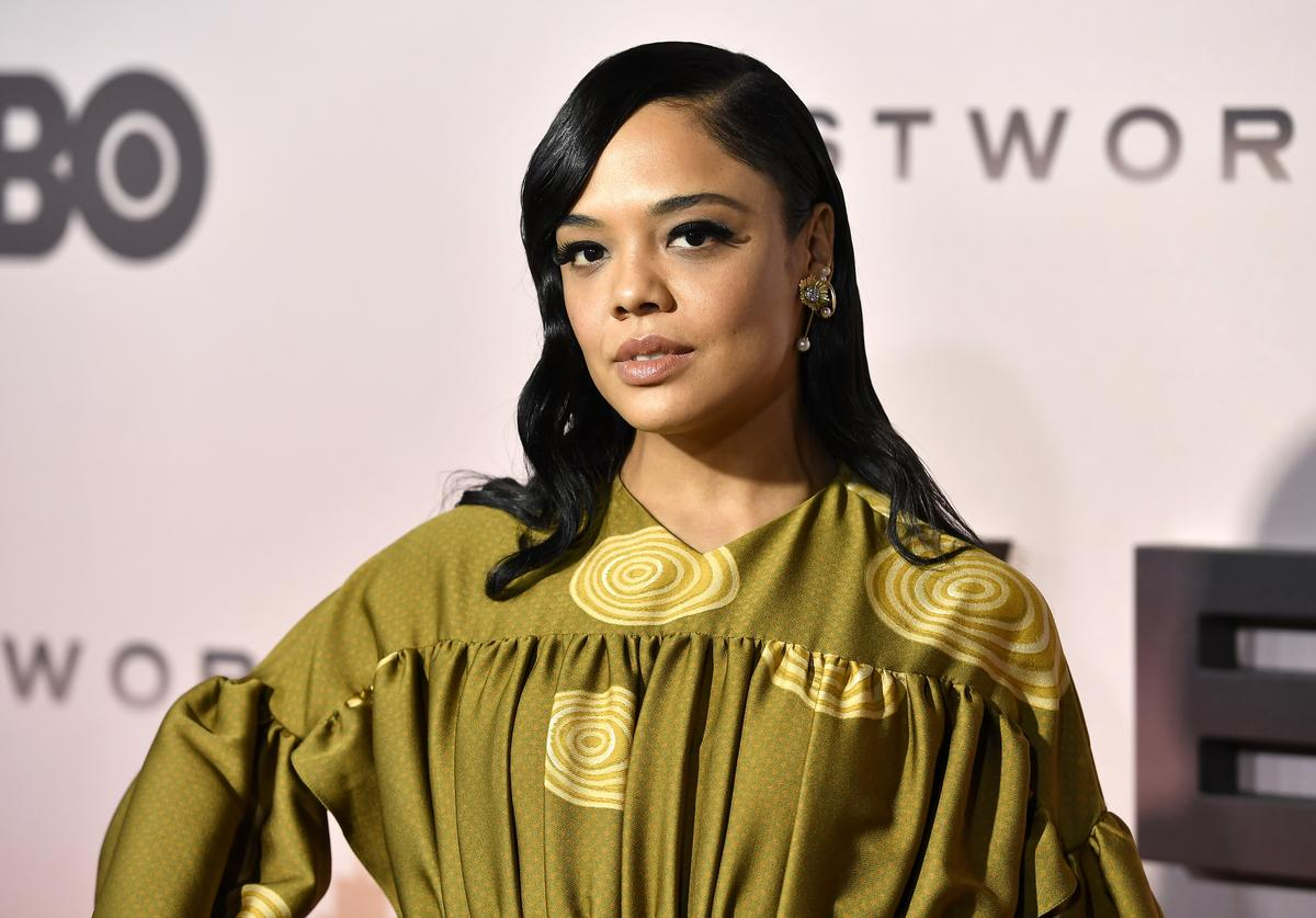 """Tessa Thompson attends the Premiere Of HBO's """"Westworld"""" Season 3 TCL Chinese Theatre on March 05, 2020 in Hollywood, California."""