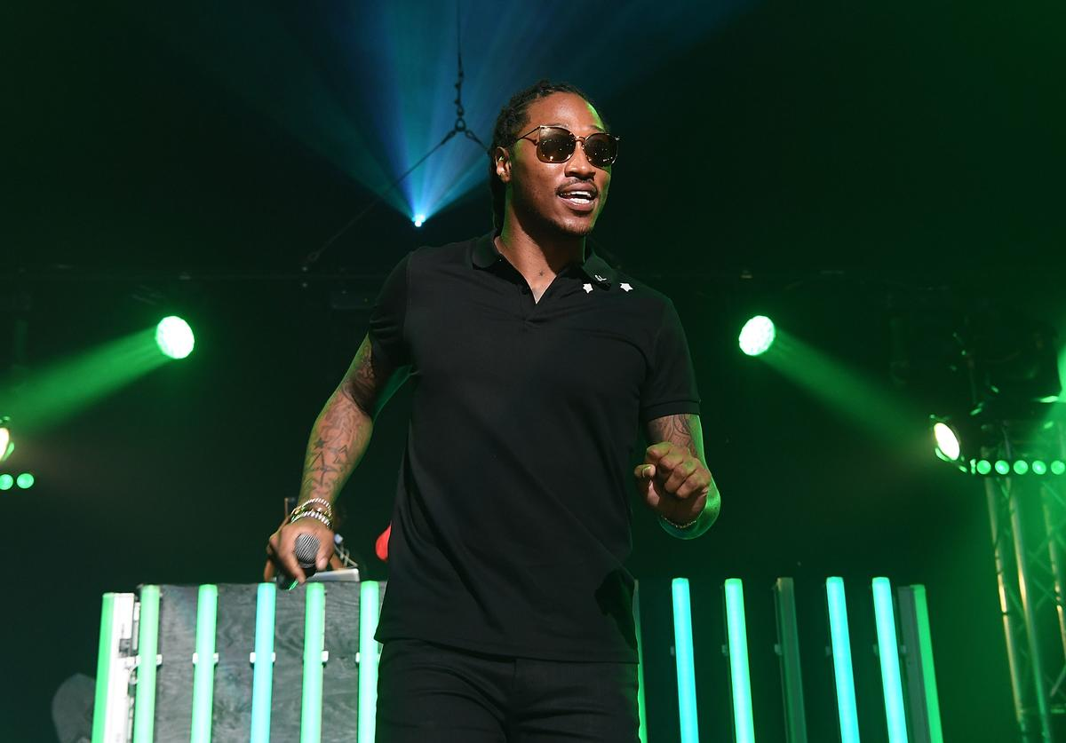 Rapper Future performs on stage at Gucci and Friends Homecoming Concert at Fox Theatre on July 22, 2016 in Atlanta, Georgia.