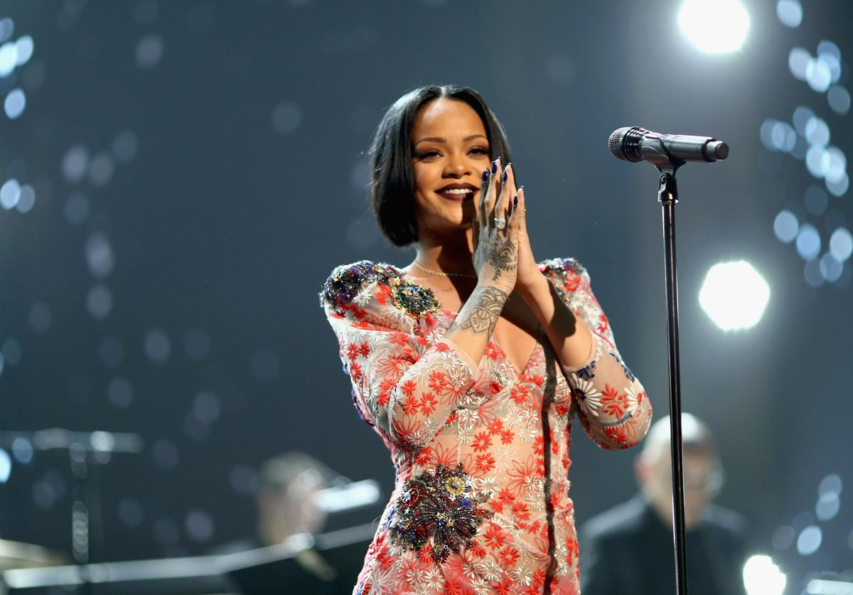 Singer Rihanna performs onstage during the 2016 MusiCares Person of the Year honoring Lionel Richie at the Los Angeles Convention Center on February 13, 2016 in Los Angeles, California.