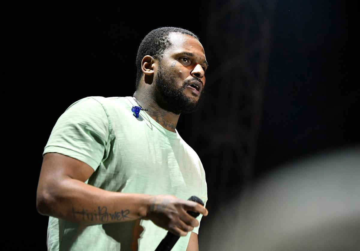 ScHoolboy Q performs on Camp Stage during day two of Tyler, the Creator's 5th Annual Camp Flog Gnaw Carnival at Exposition Park on November 13, 2016 in Los Angeles, California