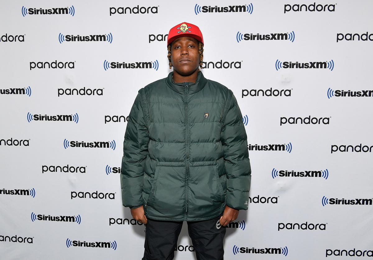 Don Toliver visits SiriusXM Studios on March 02, 2020 in New York City.