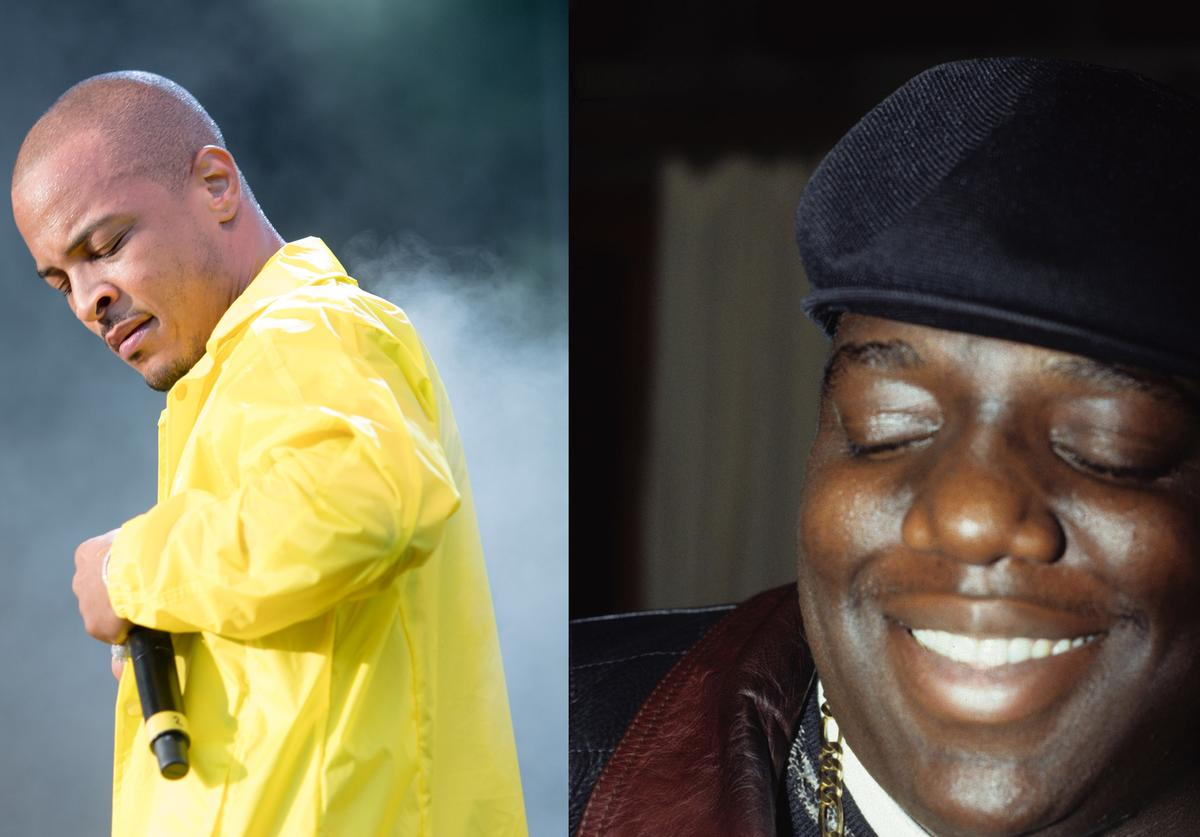 T.I. tip Biggie the notorious b.i.g. tribute instagram 23rd Death Anniversary