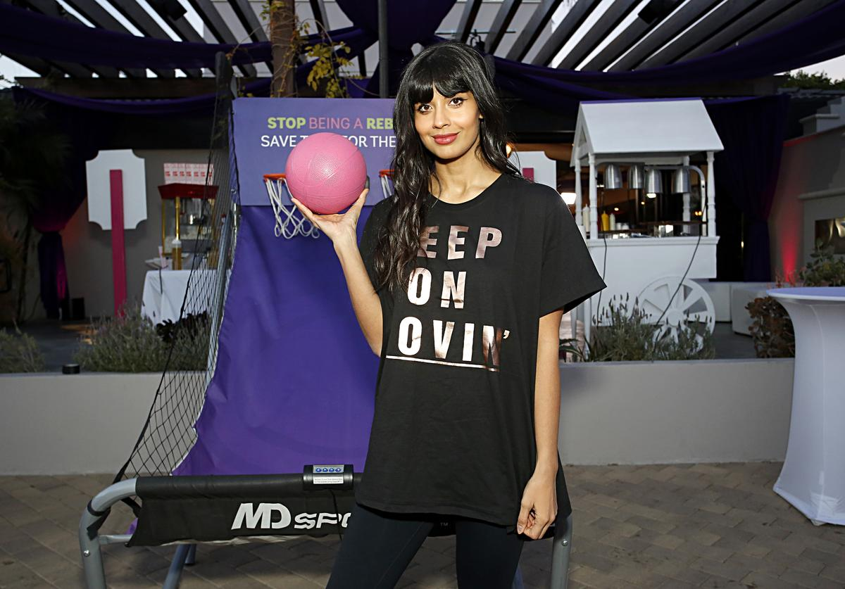 Jameela Jamil slams trolls coronavirus joke illness
