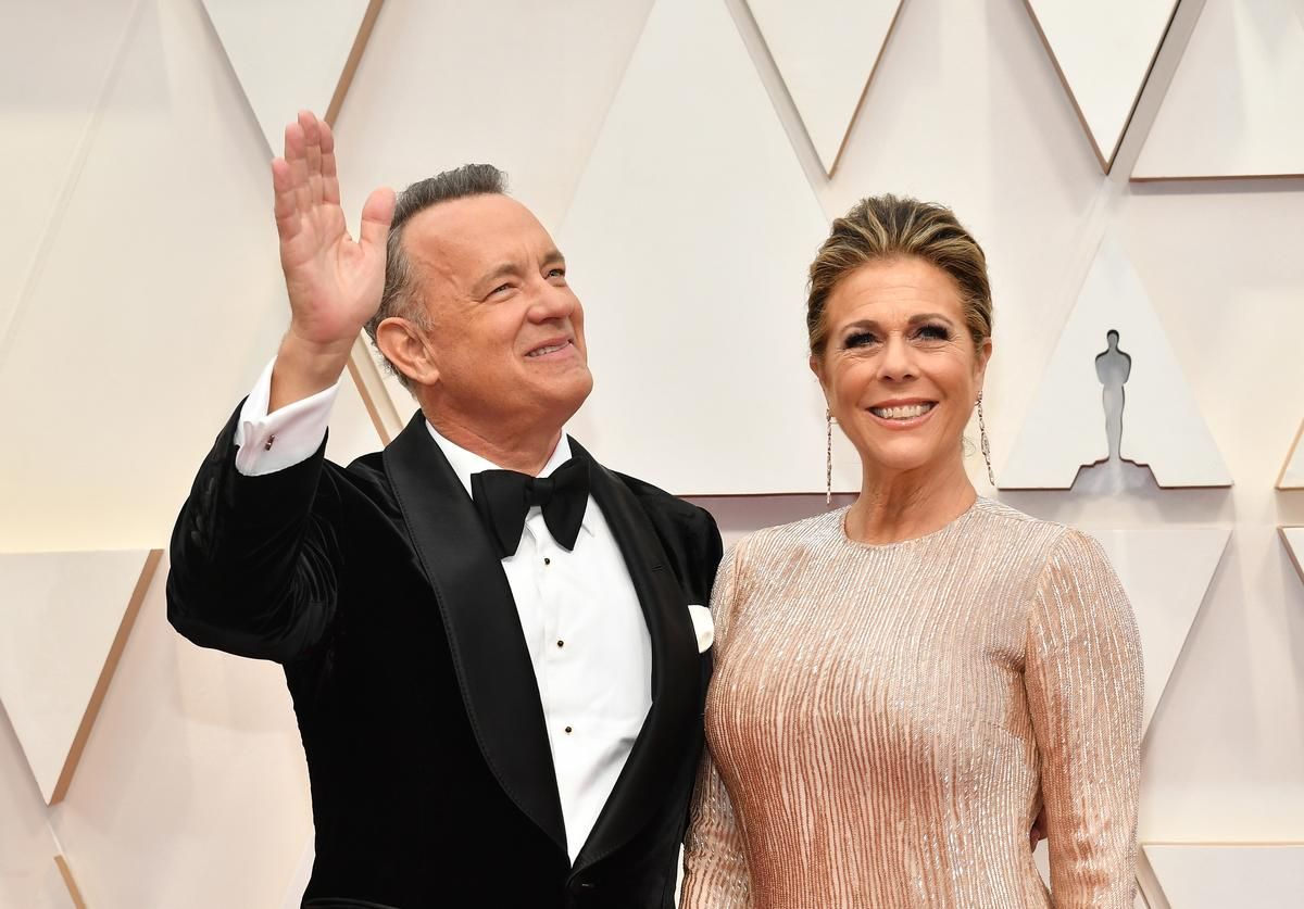 Tom Hanks Rita Wilson contracting coronavirus reactions response shambles test positive epidemic outbreak