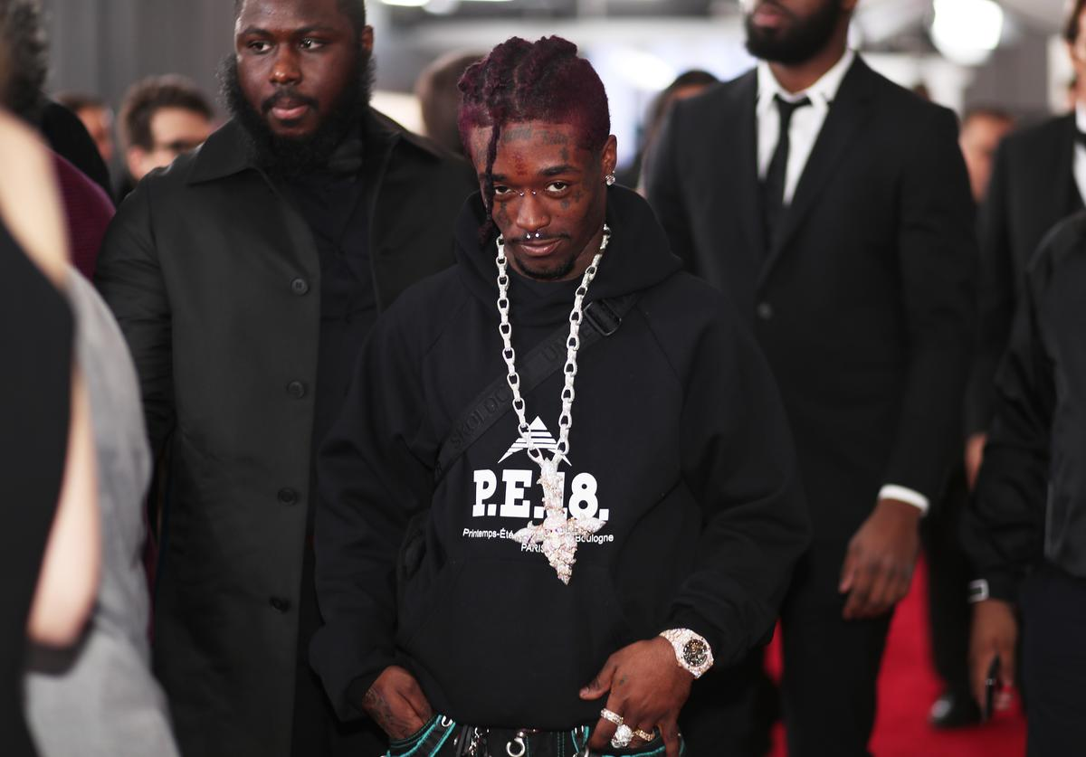 Recording artist Lil Uzi Vert attends the 60th Annual GRAMMY Awards at Madison Square Garden on January 28, 2018 in New York City.