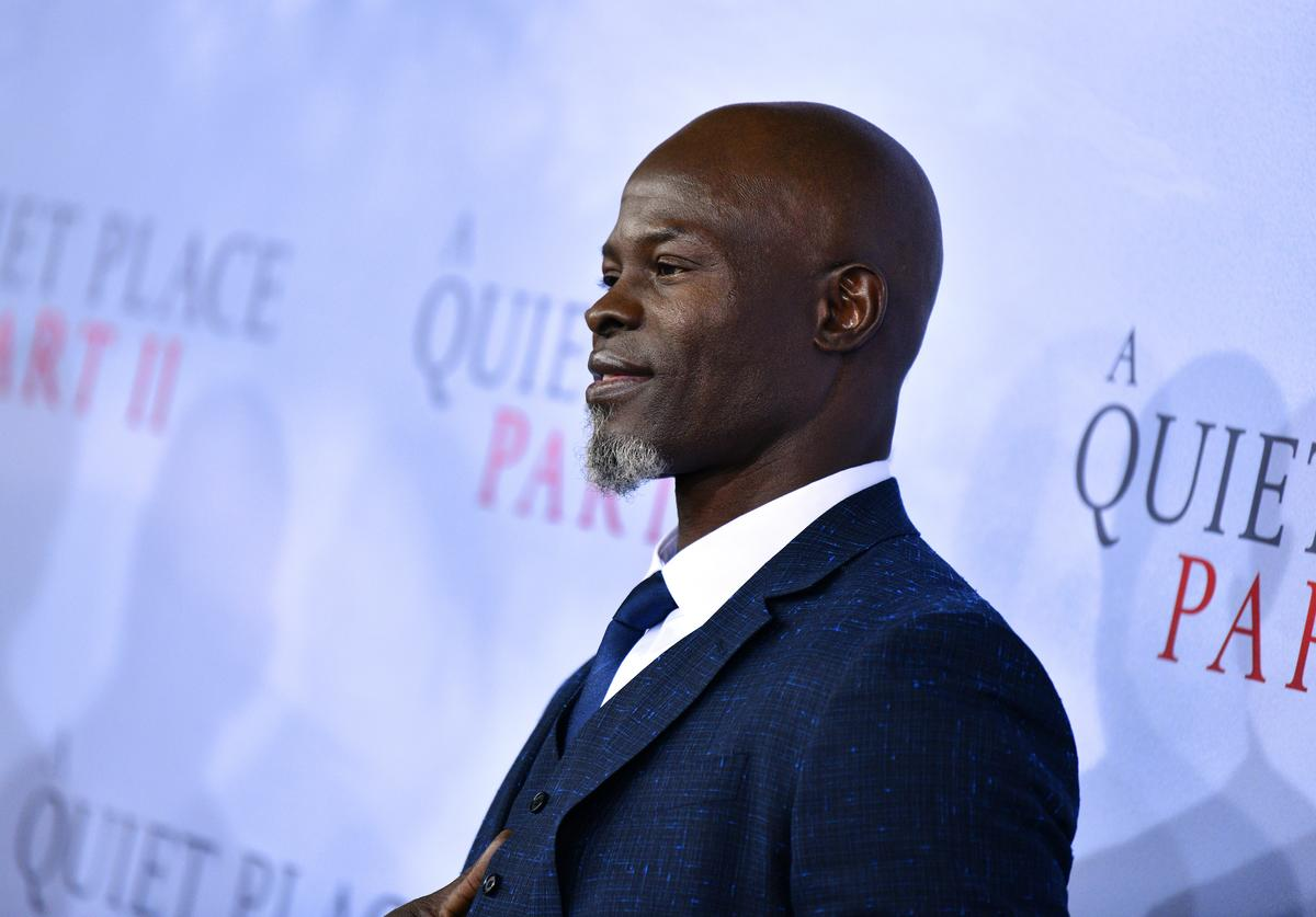 Djimon Hounsou Racial Slur A Quiet Place Part 2 Child Postpone Custody