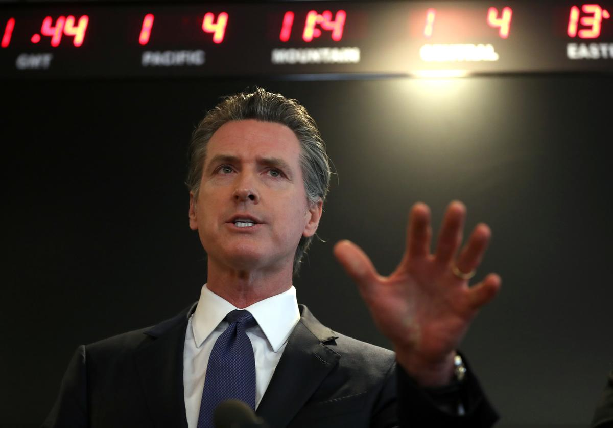 California Governor Closes All Bars & Cuts Restaurant Capacities