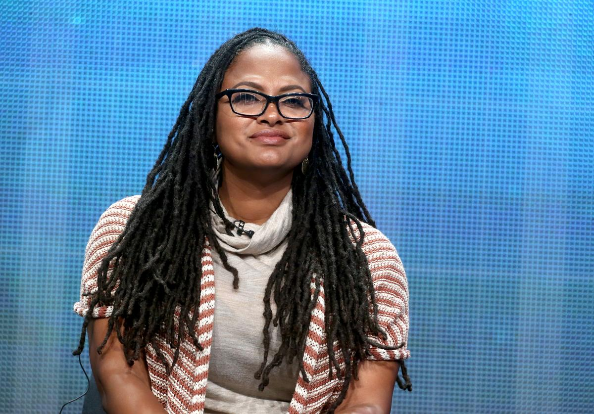 "Filmmaker Ava DuVernay speaks onstage during the Makers ""Women in Hollywood"" and Women in Politics"" panel at the PBS Networks portion of the 2014 Summer Television Critics Association at The Beverly Hilton Hotel on July 22, 2014 in Beverly Hills, California."