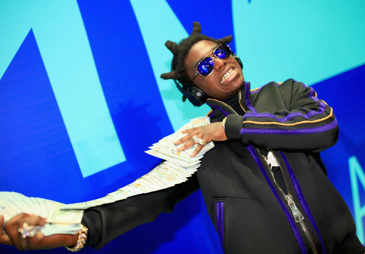 Kodak Black attends the 2017 MTV Video Music Awards at The Forum on August 27, 2017 in Inglewood, California.