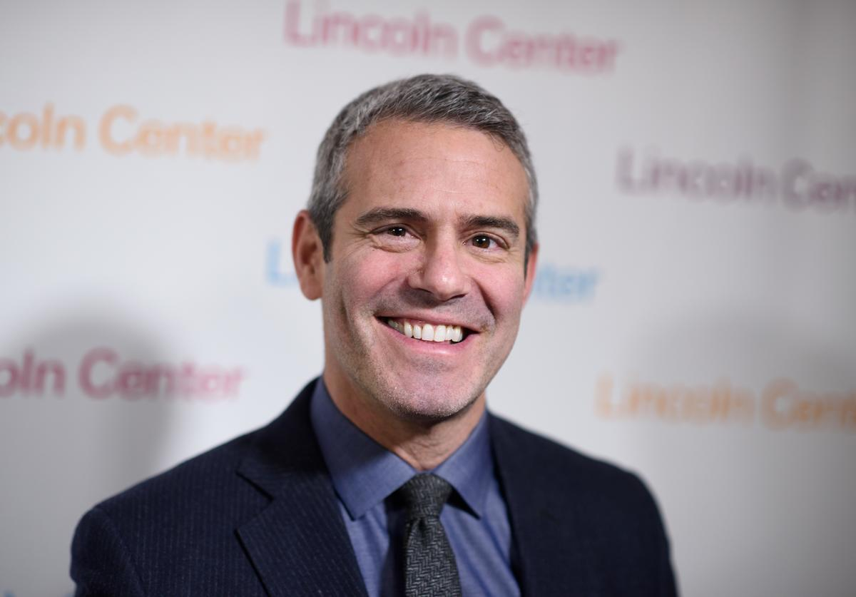 Andy Cohen arrives at Lincoln Center's American Songbook Gala Honors Lorne Michaels at Lincoln Center for the Performing Arts on February 11, 2016 in New York