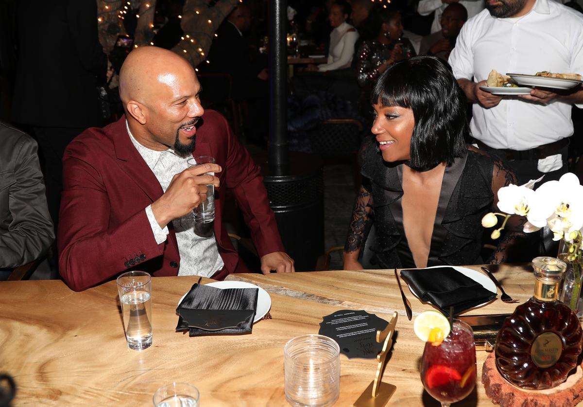 Common, Tiffany Haddish, Dating